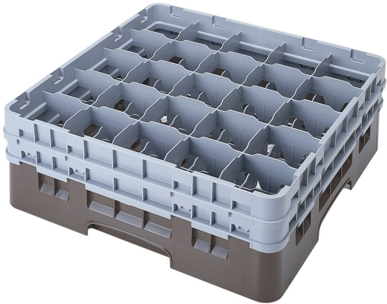 Cesta base para transporte de cristalería Organizatucatering