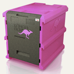 Thermobox torre 60x40 contenedor isotérmico panadería pastelería