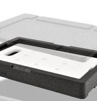 Extensor de contenedor isotérmico para placa eutéctica