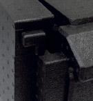 Maxi porter detalle cierre contenedor isotérmico pastelería panadería 60x40