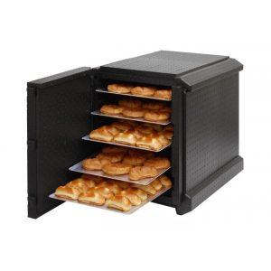 Maxi porter contenedor isotérmico pastelería panadería 60x40