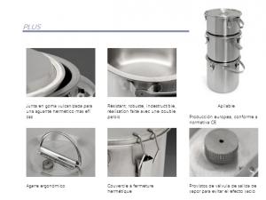 Contenedores isotérmicos para líquidos detalles