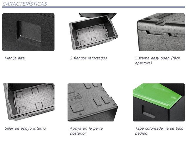 Contenedor isotérmico Powerbox